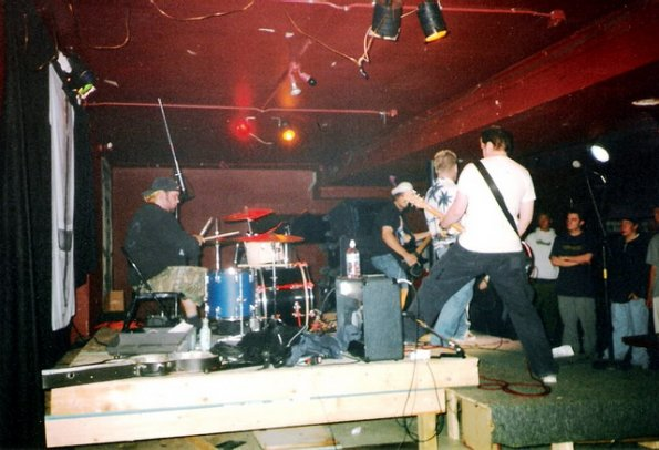 The Radfords at the Animal Farm in Saskatoon, August 23, 1999