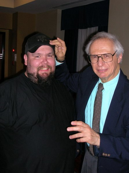 Danny with The Amazing Kreskin, June 17, 2005