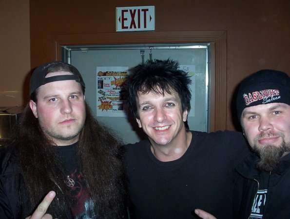 Tim, Snake of Skid Row and Dave, February 25, 2004